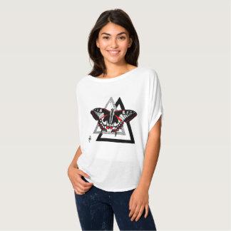 Camiseta butterfly dotwrok