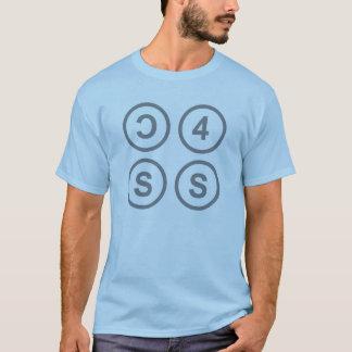 Camiseta C4SS contra el IP, para siempre