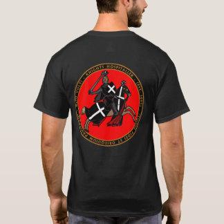 Camiseta Caballeros Hospitaller que carga en el sello Shir