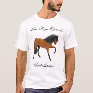 Camiseta Caballo andaluz de la bahía, Pura Raza Espanola