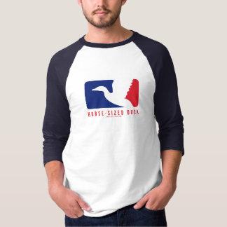 camiseta Caballo-clasificada del pato