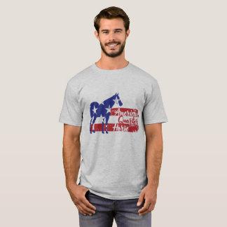 Camiseta Caballo cuarto americano