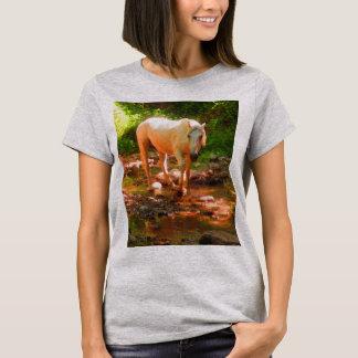 Camiseta Caballo cuarto del Palomino