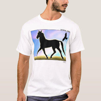Camiseta Caballo de Alkhal Teke