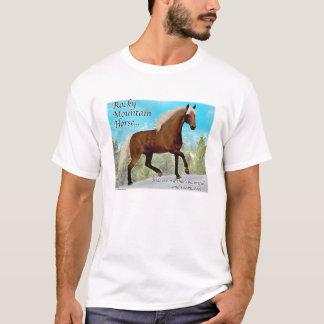 Camiseta Caballo de Gaited de la montaña rocosa