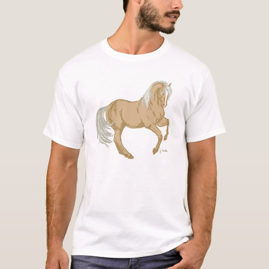 Camiseta Caballo del Palomino