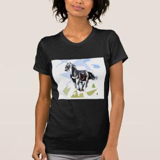 Camiseta Caballo negro