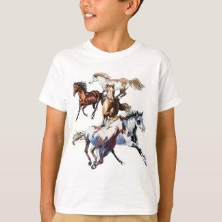 Camiseta Caballos corrientes