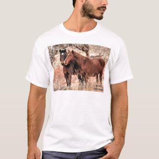Camiseta Caballos Nuzzling