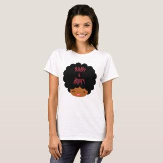 Camiseta Cabello afro natural ~ NAPPY & HAPPY