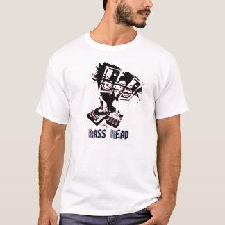Camiseta cabeza baja 3D con el texto