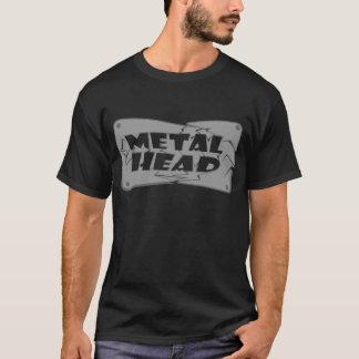Camiseta Cabeza del metal