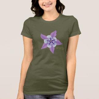 """Camiseta cabida color del """"ejército"""""""