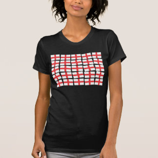 Camiseta cabida negro de la bandera de Inglaterra