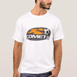 Camiseta cabida negro de los cometas