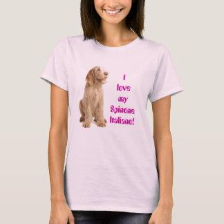 camiseta cabida señoras - amor de I mi Spinone