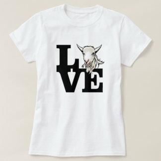 Camiseta CABRA el | L retro O V E ningunos cuernos