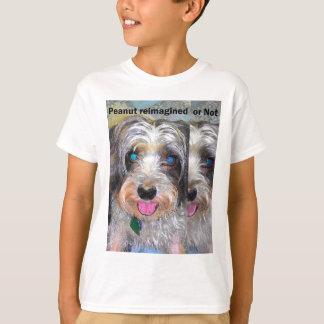Camiseta cacahuete el perro del rescate