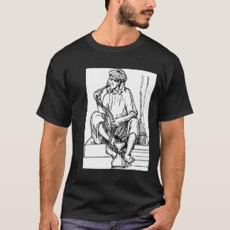Camiseta Cachimba que fuma del hombre