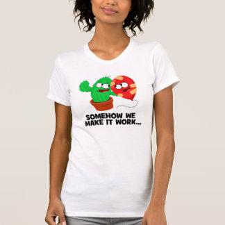 Camiseta Cactus y globo