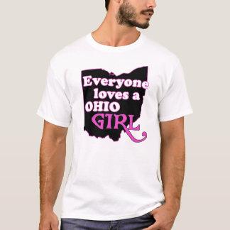 Camiseta Cada uno ama a un chica de Ohio