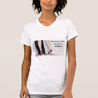 Camiseta Café a permanecer