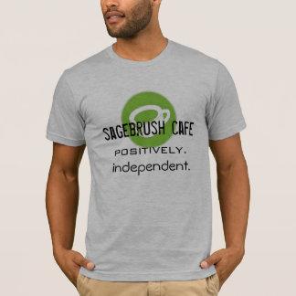 Camiseta Café del Sagebrush: Positivamente independiente