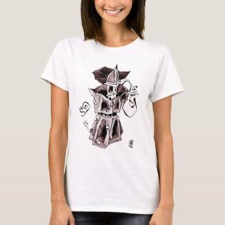 Camiseta Café express Italia del café del arte de Moka -