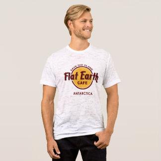 Camiseta Café plano de la tierra - AHORRE el AVIÓN - la