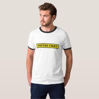 Camiseta Café primero