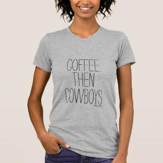 Camiseta Café y vaqueros