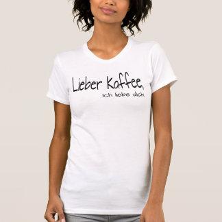 Camiseta Cafetera amor