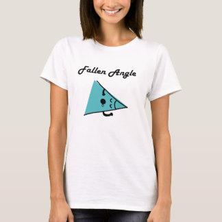 Camiseta caida del retruécano del ángulo/del ángel