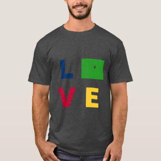 Camiseta Caja de Colorado del AMOR