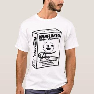 Camiseta Caja del individuo del cereal (blanco y negro)