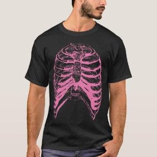 Camiseta Caja torácica rosada