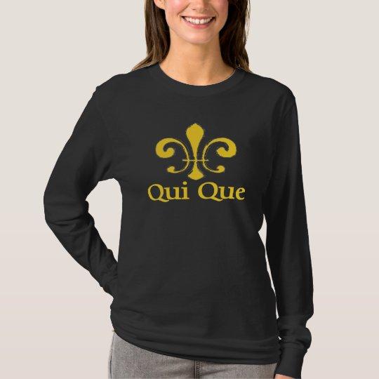 Camiseta Cajun Qui Que