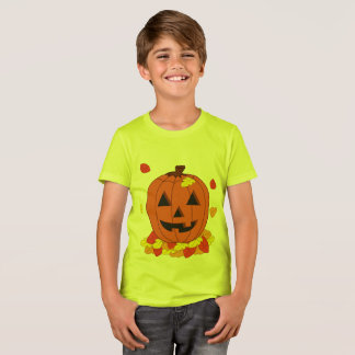 Camiseta Calabaza sonriente