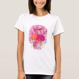 Camiseta Calavera cráneo grunge skull