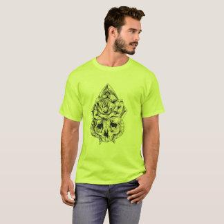 Camiseta Calavera de Rosas