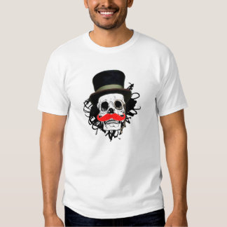 Camiseta Calavera Sir con bigote