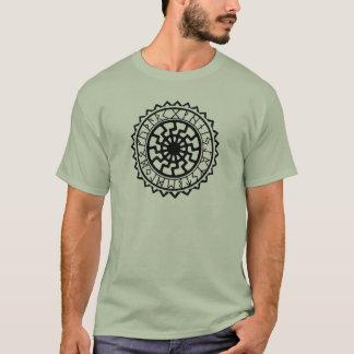 Camiseta Calendario de la runa de Sun del Celtic de Viking