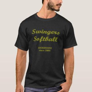 Camiseta Calentamiento del softball del libertino - Bono
