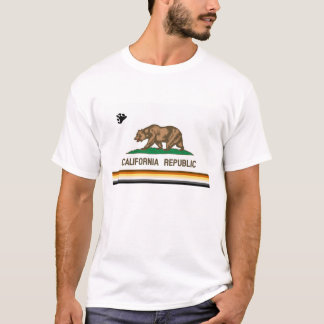 Camiseta California Bandera Bear Pride