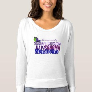 Camiseta California septentrional Napa Sonoma