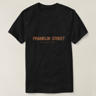 Camiseta Calle Chapel Hill Carolina del Norte de Franklin