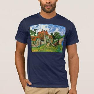 Camiseta Calle del pueblo en Auvers de Vincent van Gogh