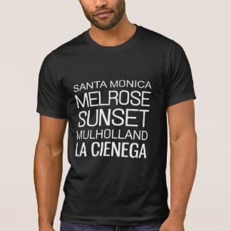 Camiseta Calles del LA
