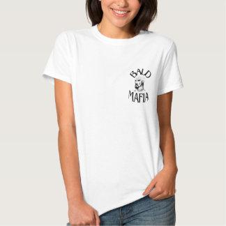 Camiseta calva de la mafia - señoras
