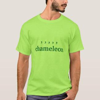 Camiseta camaleón de la coma